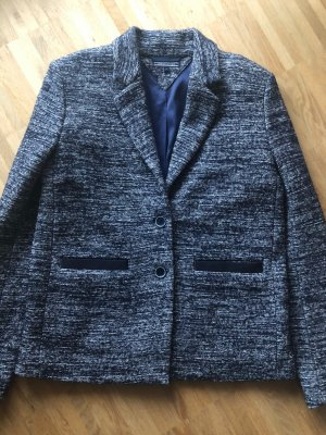 Tommy Hilfiger Blazer in tweed blu scuro