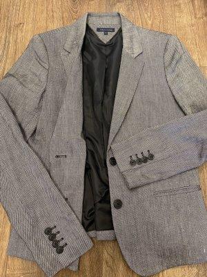 Tommy Hilfiger Marynarka jeansowa szary niebieski