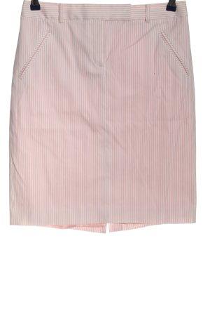 Tommy Hilfiger Bleistiftrock pink-weiß Allover-Druck Casual-Look
