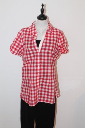 Tommy Hilfiger Bluzka w kratę czerwony-biały
