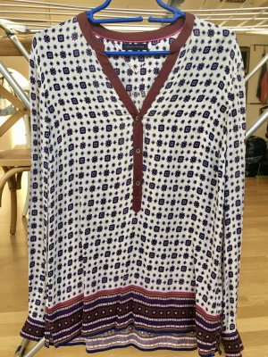 Tommy Hilfiger Blouse oversized multicolore coton