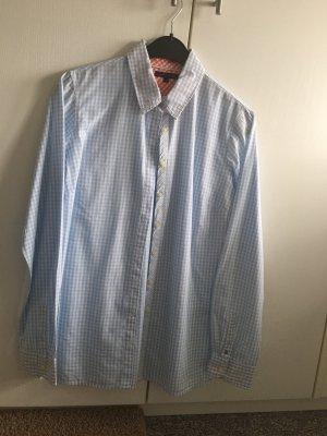 Tommy Hilfiger Camicetta a maniche lunghe bianco-azzurro