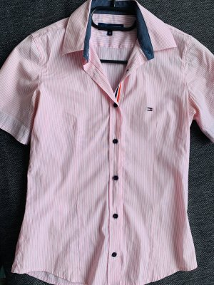 Tommy Hilfiger Short Sleeved Blouse pink-white