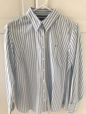 Tommy Hilfiger Camicia blusa bianco-blu