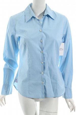 Tommy Hilfiger Bluse hellblau Business-Look