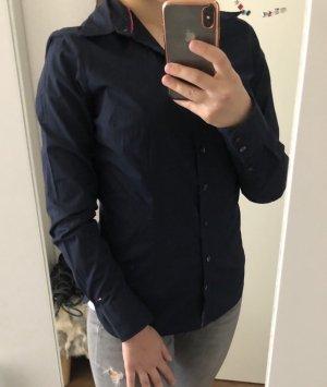 Tommy Hilfiger Bluse in marineblau