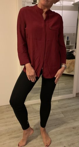 Tommy Hilfiger Bluse in tollem rot, 36