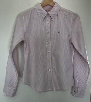 Tommy Hilfiger Bluse rosa-weiß