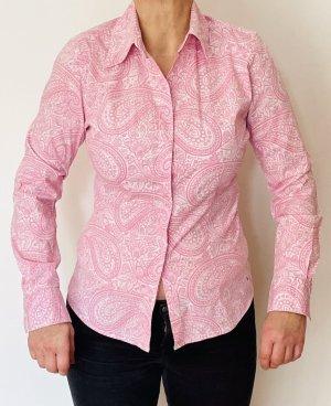 Tommy Hilfiger Blusa vaquera rosa-blanco