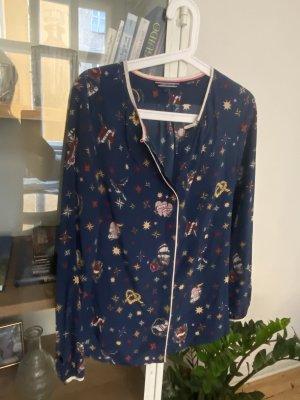 Tommy Hilfiger Bluse Tunika Shirt 36 S 100% Seide