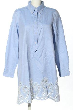 Tommy Hilfiger Blusenkleid blau Business-Look