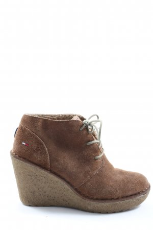 Tommy Hilfiger Booties braun Casual-Look