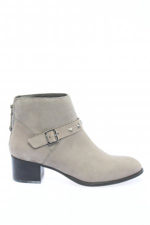 Tommy Hilfiger Booties hellgrau Animalmuster Casual-Look