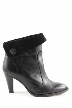 Tommy Hilfiger Booties schwarz Business-Look