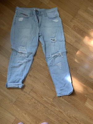 Tommy Hilfiger Denim Boyfriend Jeans light blue-white