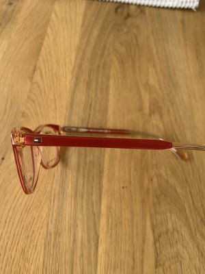 Tommy Hilfiger Glasses dark red acetate