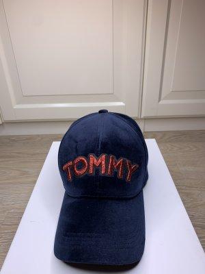 Tommy Hilfiger Baseballówka głęboka czerwień-ciemnoniebieski