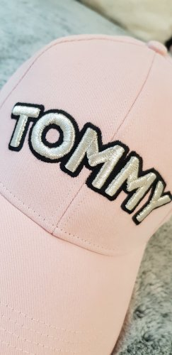 Tommy Hilfiger Cap rosa 100% Baumwolle