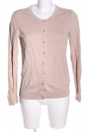Tommy Hilfiger Cardigan nude meliert Casual-Look