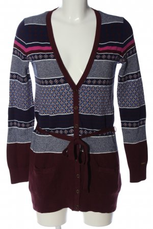 Tommy Hilfiger Cardigan grafisches Muster Casual-Look
