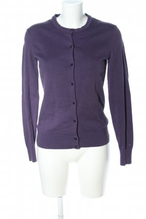 Tommy Hilfiger Cardigan lila Casual-Look