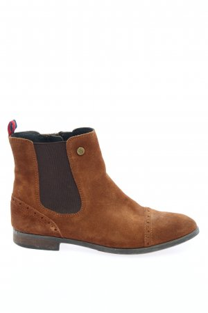 Tommy Hilfiger Chelsea Boots braun Casual-Look