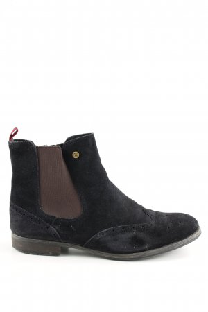 Tommy Hilfiger Chelsea Boots black-brown business style
