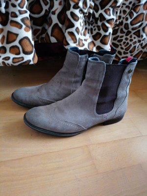 Tommy Hilfiger Chelsea Boots grey brown