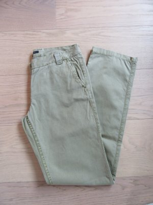 Tommy Hilfiger Chinos pale green-lime-green cotton