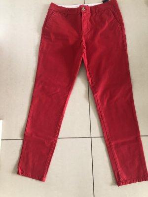 Tommy Hilfiger Pantalon chinos rouge fluo-rouge foncé