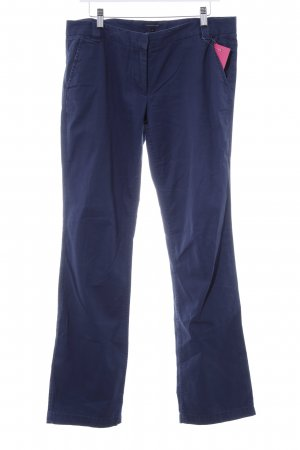 Tommy Hilfiger Chinohose dunkelblau Business-Look