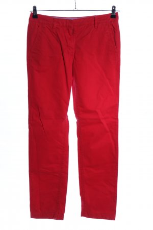 Tommy Hilfiger Chinohose rot Casual-Look