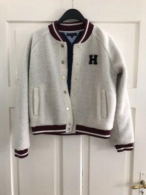 Tommy Hilfiger College Jacket natural white-dark red