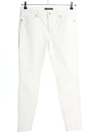 Tommy Hilfiger Pantalón de pana blanco puro look casual