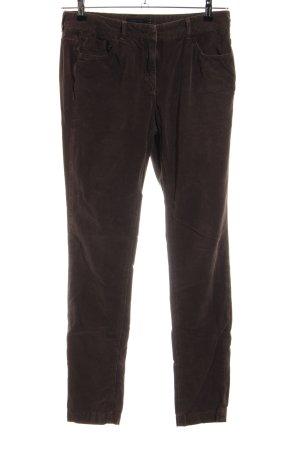 Tommy Hilfiger Pantalon en velours côtelé bronze style décontracté