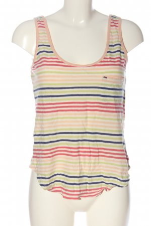 Tommy Hilfiger Cropped Top Streifenmuster Casual-Look