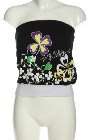 Tommy Hilfiger Cropped Top Blumenmuster Casual-Look