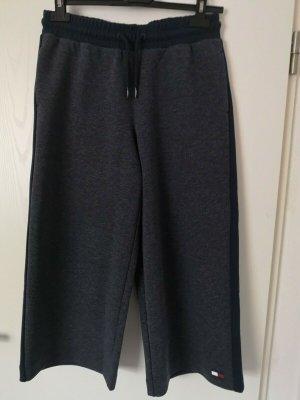 Tommy Hilfiger Culottes slate-gray-dark blue cotton