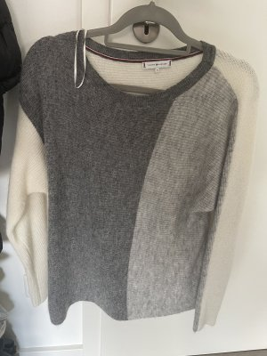 Tommy Hilfiger Coarse Knitted Sweater white-light grey