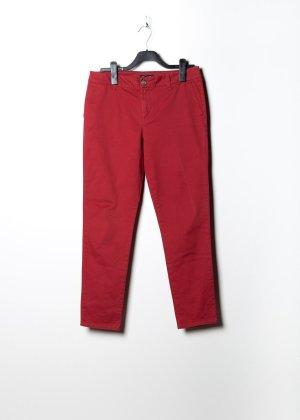 Tommy Hilfiger Damen Anzughose in Rot