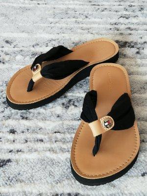 Tommy Hilfiger Flip-Flop Sandals black