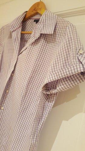 Tommy Hilfiger Blouse à manches courtes blanc-gris lilas