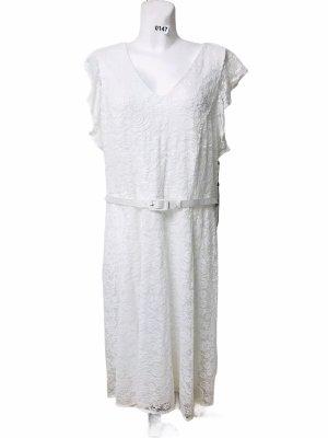 Tommy Hilfiger Sukienka o kroju litery A biały