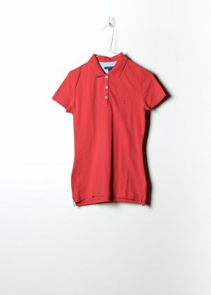 Tommy Hilfiger Damen Polo in Rot