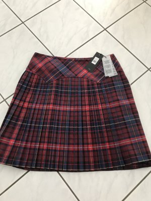 Tommy Hilfiger Plaid Skirt brick red polyester