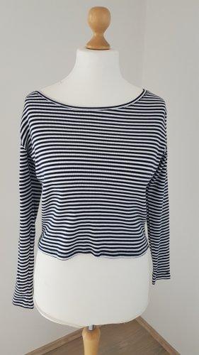 Tommy Hilfiger Ribbed Shirt white-dark blue