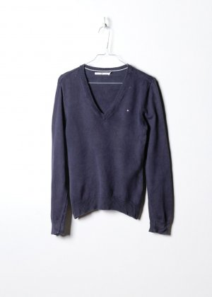 Tommy Hilfiger Damen Strickpullove in M