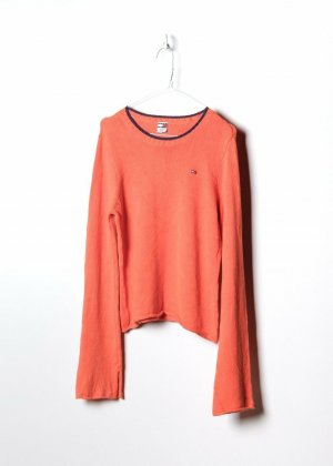 Tommy Hilfiger Sweatshirt orange coton