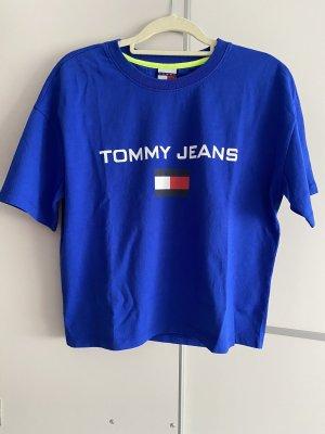 Tommy Jeans T-shirt blu Cotone