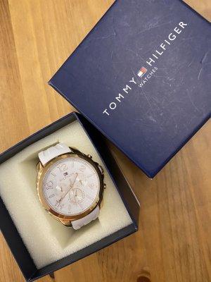 Tommy Hilfiger Damen Uhr Serena Rosègold/weiß